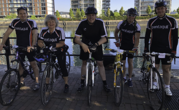 Manchester to Blackpool charity bike ride