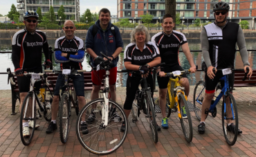 Manchester to Blackpool charity bike ride 2019
